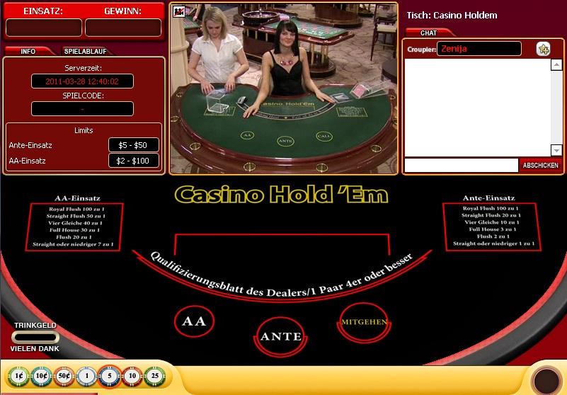 Casino live spill jobber