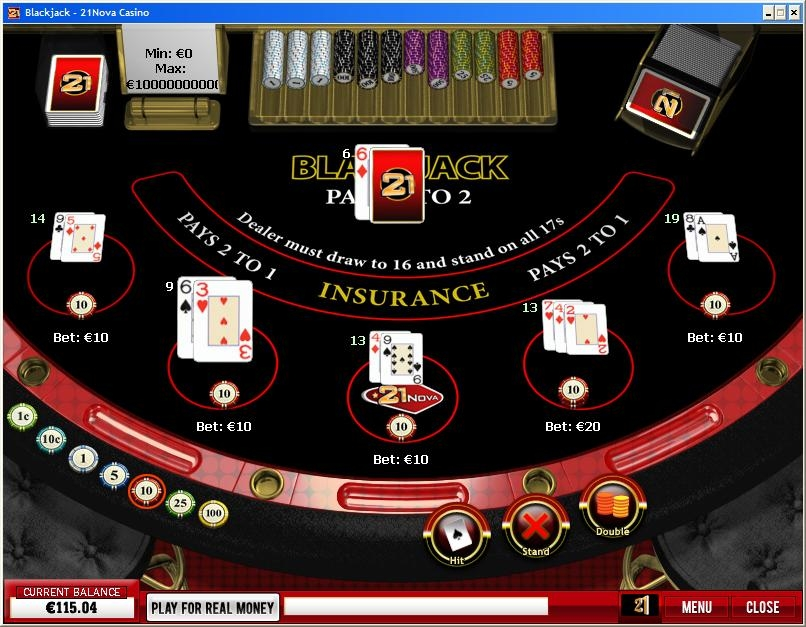 21nova Blackjack